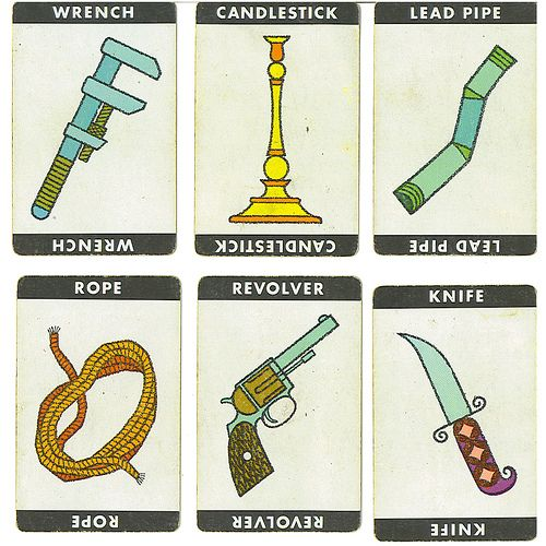 photograph regarding Printable Clue Board Game Cards titled How Towards Host A Cluedo Bash - Outstanding Race