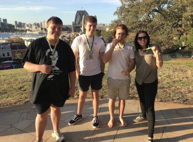 Sydney Amazing Race Medal Ceremony Just for fun Event