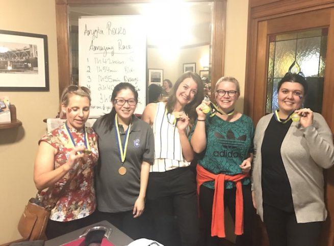 Aryzta Team Bonding Day Amazing Race With Bars The Rocks Sydney Winning Team