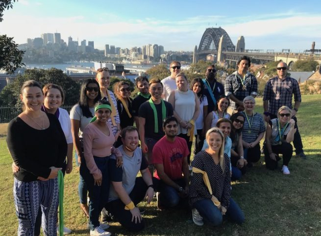Corporate Team Building Outdoor Activities Amazing Race Sydney