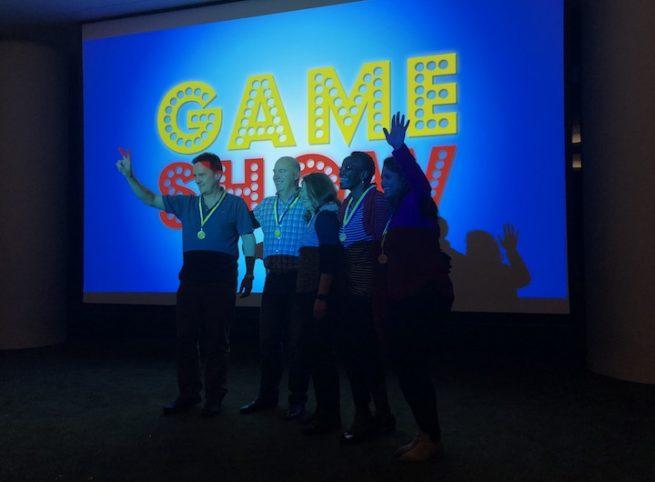 Game Show Medal Ceremony Indoor team Building Activities