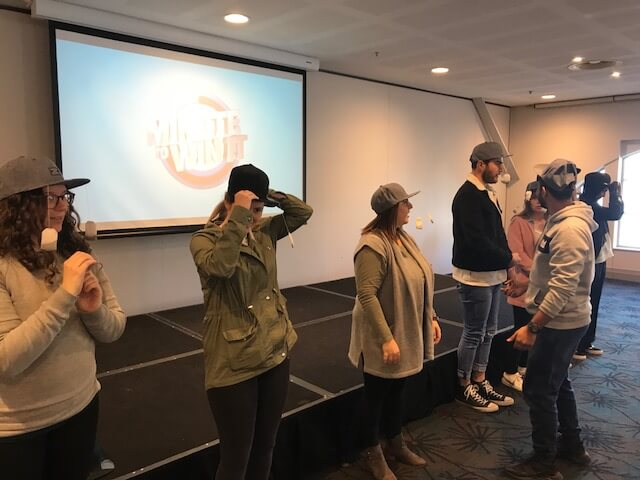 Game Show Conference Activity Minute To Win It Tea Party Luna Park Conferences Crystal Palace