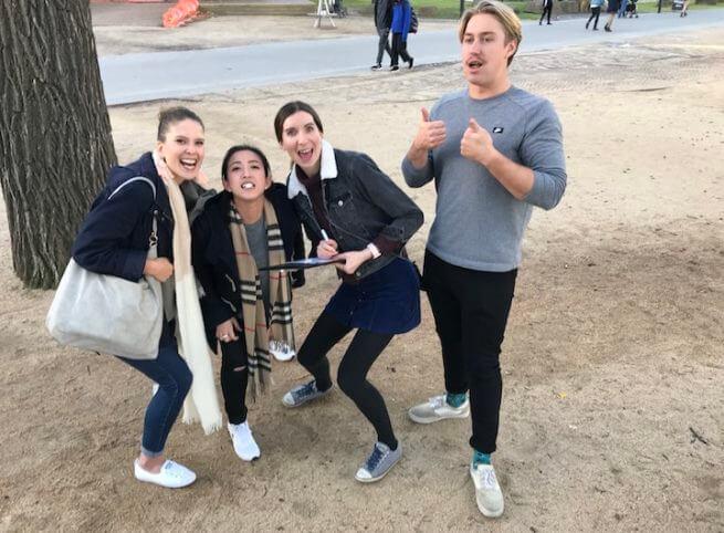 Friends Outdoor Activities team challenge Great Race Fun