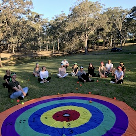 Survivor Giant Sling Target Team Building