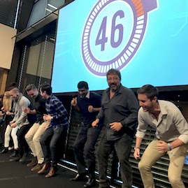 Minute To Win It Corporate Group with Countdown Timer Temper Tantrum