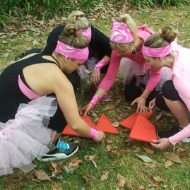 Hens Party Amazing Race Tangram Puzzle Challenge