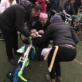 Build A Bike Community Charity Events Teamwork Team Work