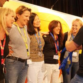 Indoor Conference Activity Winning Team