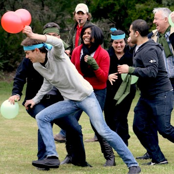 Outdoor Team Building Challenge Survivor Balloon Centurion Challenge Game