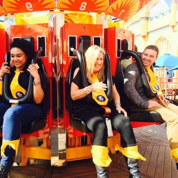 Roller Coaster Theme Park Rides Conference Break Out Activities Luna Park Sydney