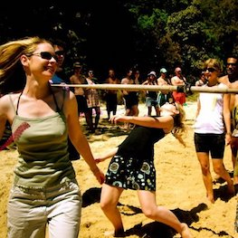 Limbo Games Just for Fun Corporate Team Building Beach Amazing Race