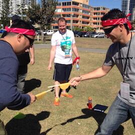 Taste Amazing Race Taco War Team Building