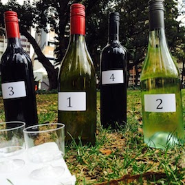 Taste Amazing Race Corporate Team Building Wine Bottles