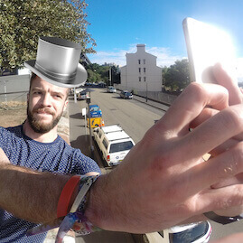 Monopoly Amazing Race Sabotage Selfie Photobomb
